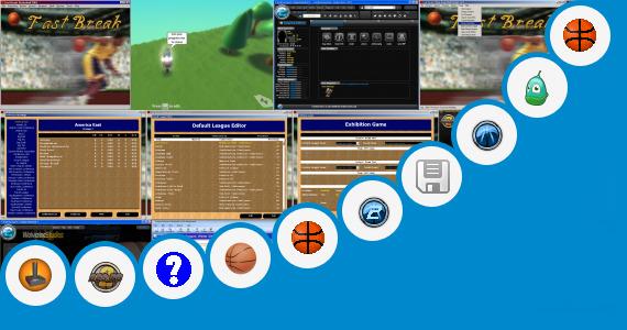 basketball tournament program template - basketball game program templates fast break basketball