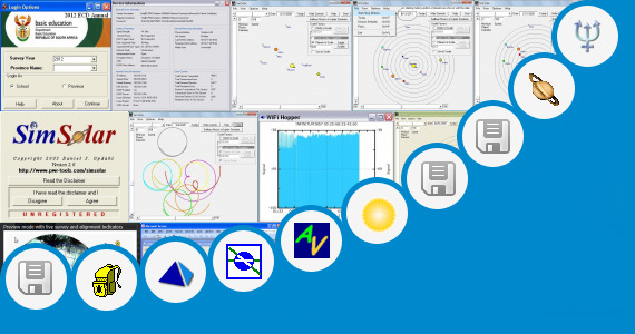 Software collection for Solar System Site Survey