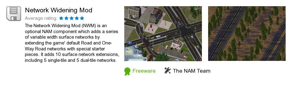 Network Widening Mod