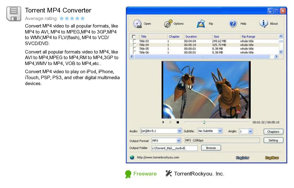 Torrent MP4 Converter