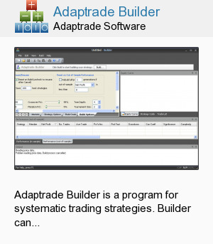 Adaptrade Builder