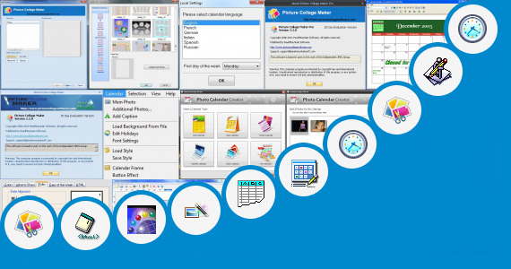 Key Calendar Design Software : Free calendar maker software funny photo and more