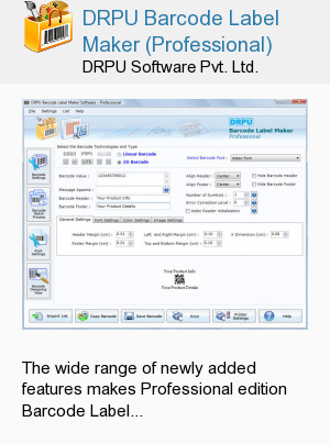 DRPU Barcode Label Maker (Professional)