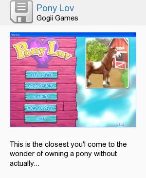 Pony Lov