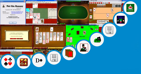 Software collection for Rummy Card Game Wap Sites