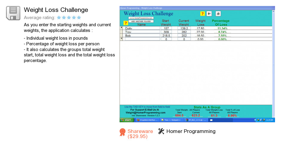 Free Weight Loss Challenge Download: 35,988,402 bytes
