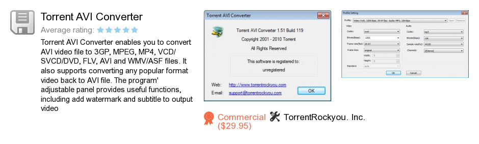 Torrent AVI Converter