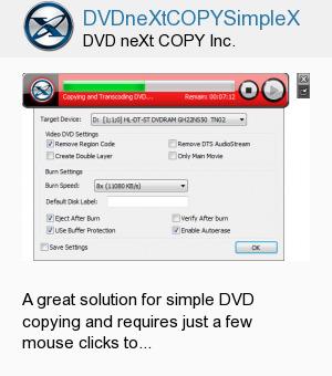 DVDneXtCOPYSimpleX