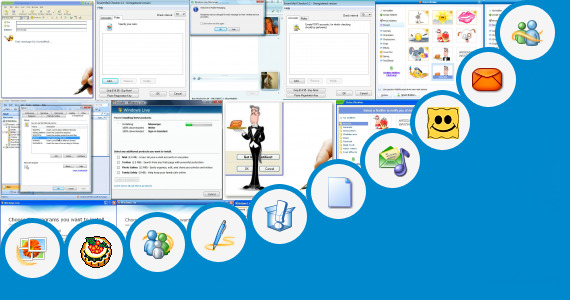 how to use emoticons in windows live mail