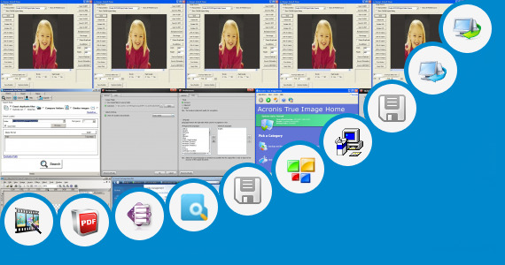 Software collection for Acronis True Image Home 2010