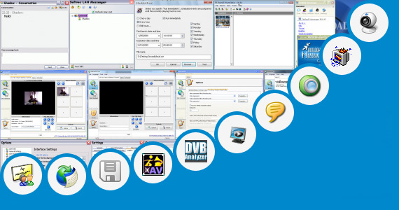 Software collection for Broadcast Private