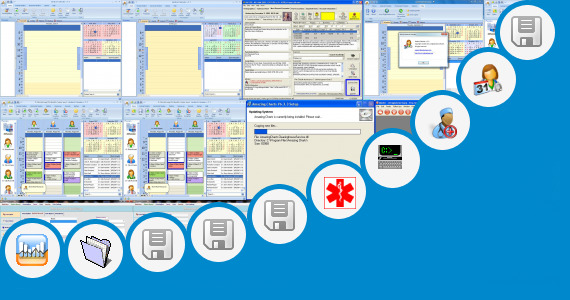 Software collection for Medical Prescription Template