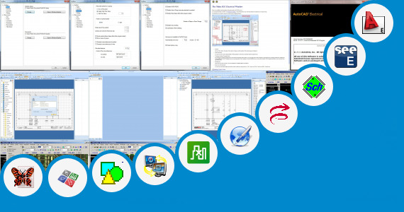 Software collection for Mitsubishi Electric Cad Drawing Cad
