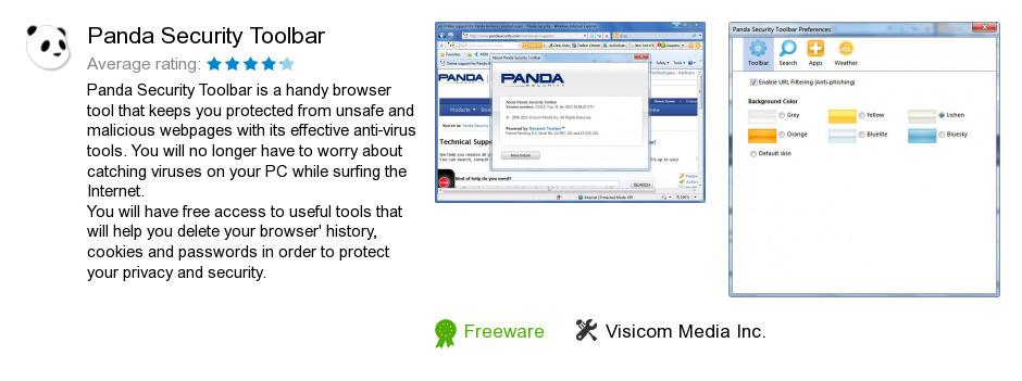 Panda Security Toolbar