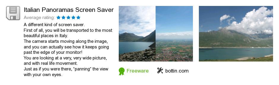 Italian Panoramas Screen Saver