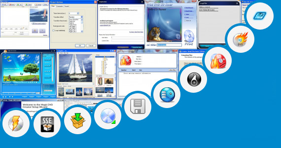 Software collection for Creator Business V10 Dvd Update