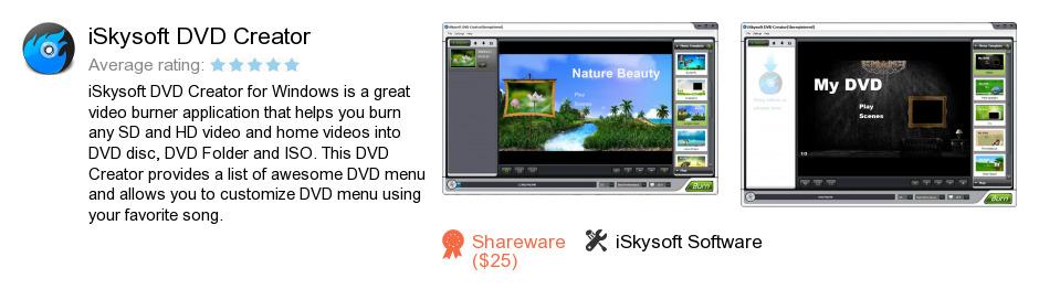 ISkysoft DVD Creator
