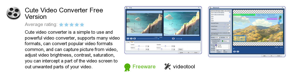 Cute Video Converter Free Version
