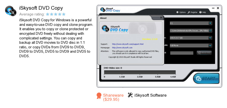 ISkysoft DVD Copy