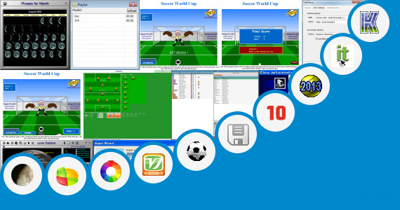 Software collection for Online Soccer Match Simulator