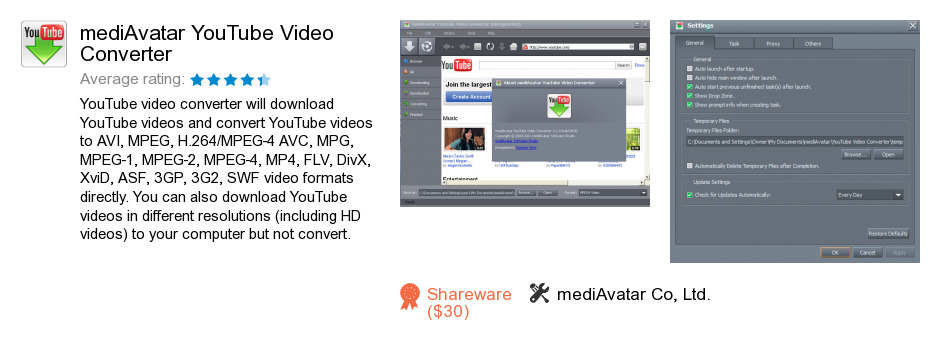 MediAvatar YouTube Video Converter