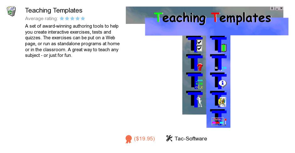 Teaching Templates