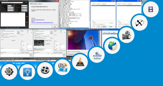 Software collection for Video Pad Video Editor Freeware