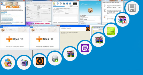 Software collection for Open Rar Standalone