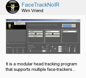 FaceTrackNoIR