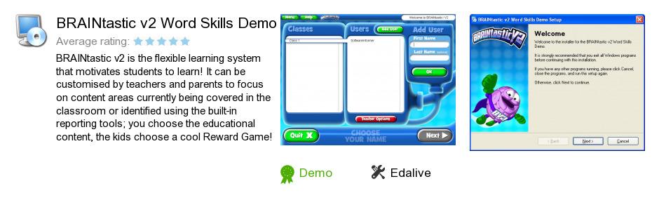 BRAINtastic v2 Word Skills Demo