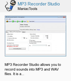 MP3 Recorder Studio