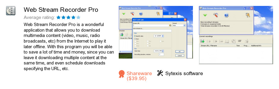 Web Stream Recorder Pro