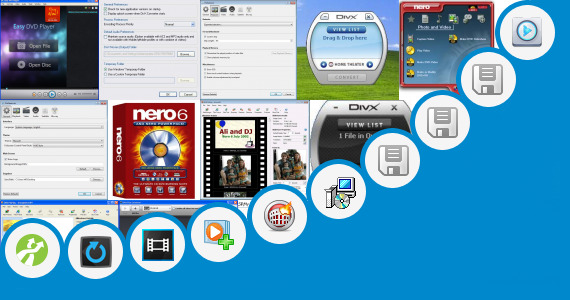 Software collection for Dvd Video Multichannel Plug In