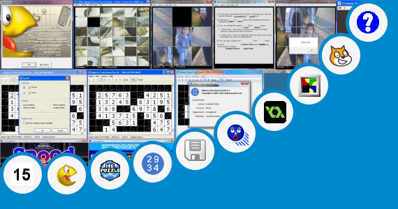 Software collection for Sliding Puzzle Game Source Code C