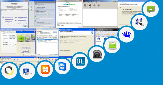 Software collection for Hp Communicator Remote Access