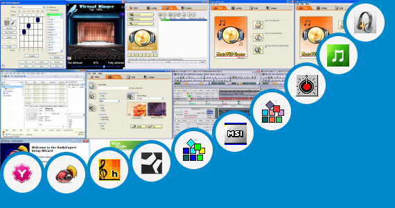Software collection for V Arranger Music Software