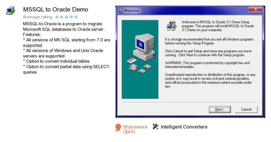 MSSQL to Oracle Demo