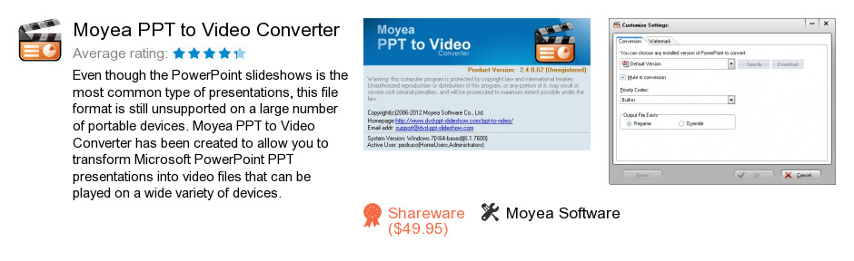 Moyea PPT to Video Converter