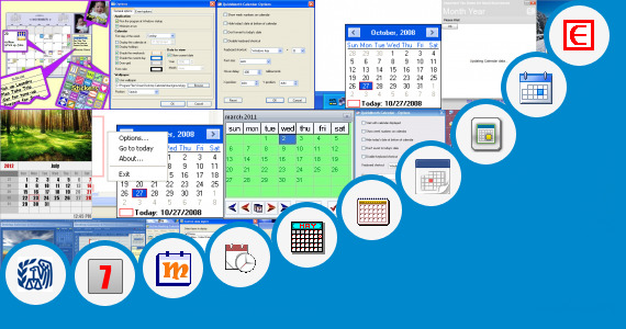 Desktop Calendar Scheduler : Weekly desktop calendar quickmonth and more