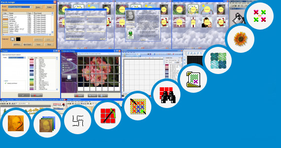 Software collection for Cross Stitch Family Tree Patterns