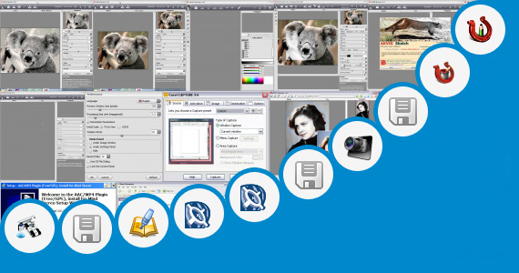 Software collection for Corel Draw X4 Plugins Led Tool