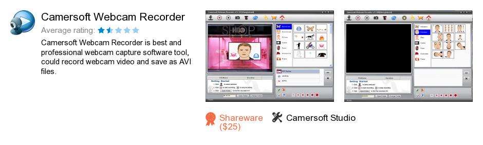 Camersoft Webcam Recorder