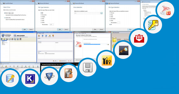 Software collection for Sql Recovery Tool Portable