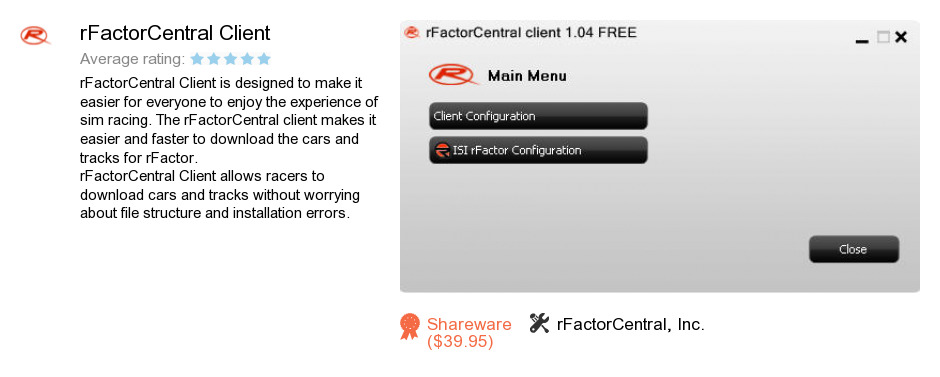RFactorCentral Client