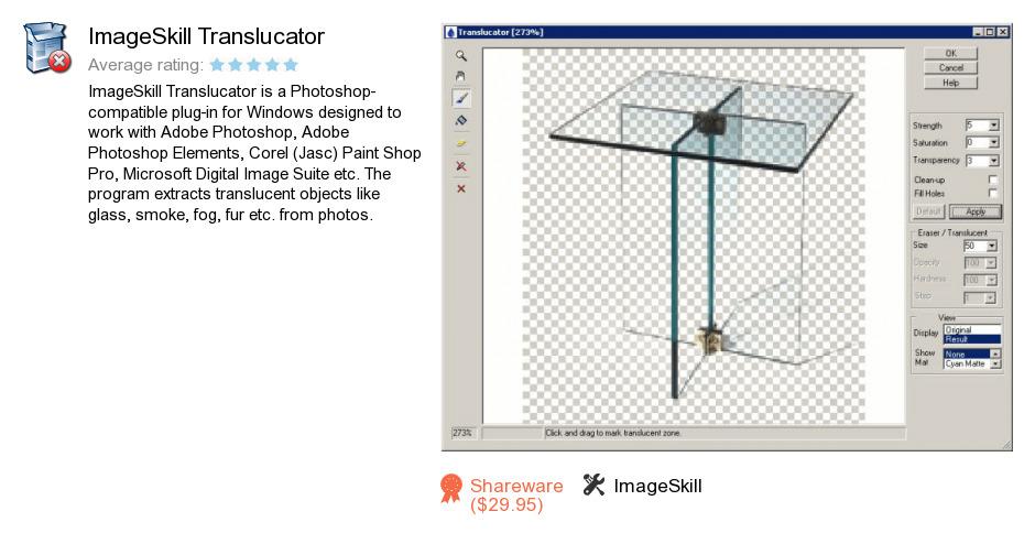 ImageSkill Translucator