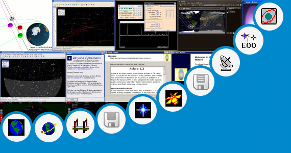 Software collection for Satellite Orbit Opengl