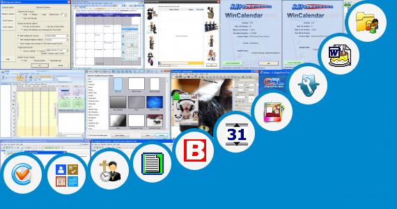 Software collection for Funny Staff Birthday Template Word
