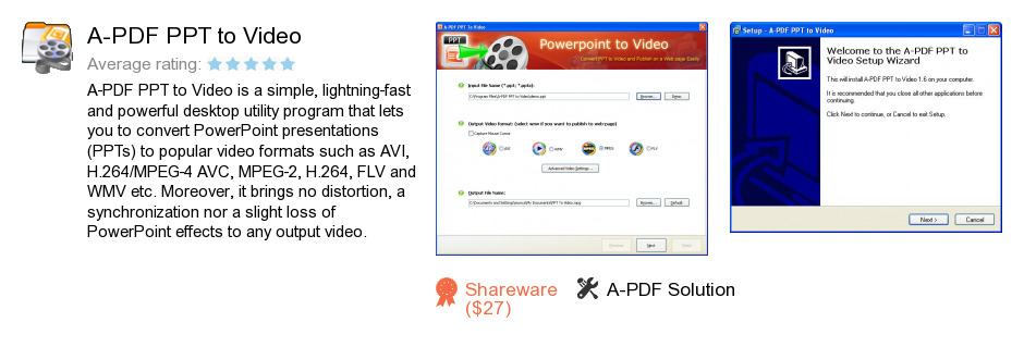A-PDF PPT to Video