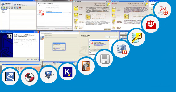 Software collection for Portable Sql Database Recovery Tool