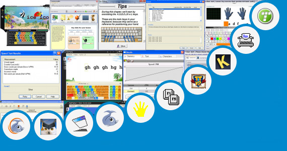 Software collection for Flying Fingers Typing Tutor